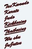 KWON Schriftzug Thaiboxing - Basic Druck