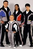 KWON  Trainingsanzug DELUXE schwarz-grau-blau