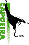 KWON Druck Capoeira grün-schwarz