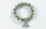 KWON  Armband Shaolin Stein grün