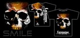 Legion Octagon  MMA T-Shirt Smile Legion Octagon, schwarz