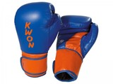 KWON  Boxhandschuhe Super Champ blau-orange