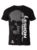 Legion Octagon L.O. T-Shirt Smile, Schwarz