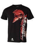 Legion Octagon  L.O. T-Shirt Red Head, Schwarz