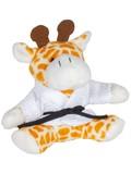KWON Schlüsselanhänger Mini-Plüschtiere Giraffe
