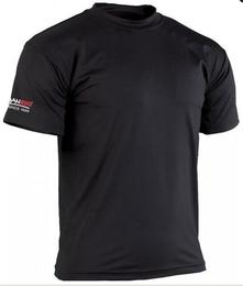Rash guard T-Shirt  in Schwarz