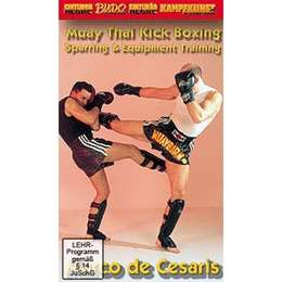 DVD Muay Thai Kick Boxing Sparring & Equipment Training