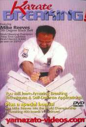 Karate Breaking Mike Reeves