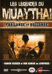 Muay Thay Legends Thailand vs Niederlande