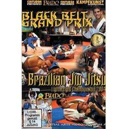 DVD Black Belt Grand Prix Brazilian Jiu Jitsu