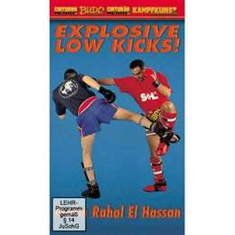 DVD El Hassan - Explosive Low Kicks
