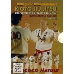 DVD Mansur - Kioto Jiu Jitsu Self Defense 2