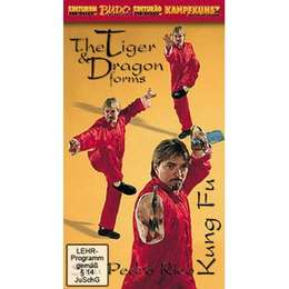 DVD Rico - Kung Fu Tiger & Dragon Forms