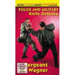 DVD Wagner - Police and Military Knife Defense