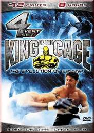 DVD pack King of the Cage 5 to 8