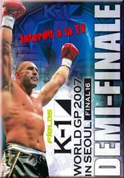 K-1 Grand Prix 2007, semi-finals, Seoul Heavyweight
