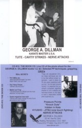 Kyusho-Jitsu The Book & 13 KO's George Dillman