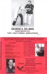 Kyusho-Jitsu Applied Pressure Point Methods George Dillman