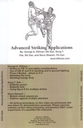 Kyusho-Jitsu Advanced Striking Applications George Dillman