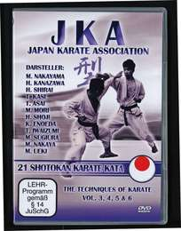 JKA Karate 21 Shotokan Katas