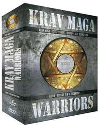 6 Krav Maga Warriors DVD's Geschenk-Set