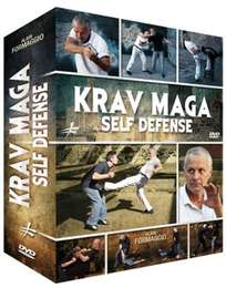 3 Krav Maga Self Defense DVD's Geschenk-Set
