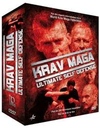 3 Krav Maga Ultimate Self Defense DVD's Geschenk-Set