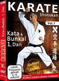 Shotokan Karate Vol.1 KATA & BUNKAI  1.DAN