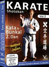 Shotokan Karate Vol.2 KATA & BUNKAI 2.DAN