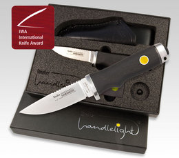 Linder Handlelight BÖHLER M390 Powderit. 2010 International Knife Award Sieger!