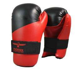 Pointfighting Boxhandschuhe Open Hands rot-schwarz