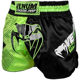 Venum Training Camp Muay Thai Shorts - Black/Neo