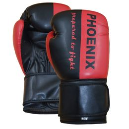 PX Boxhandschuh Prepared to Fight PU s/R