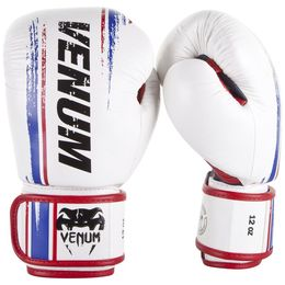 Venum Bangkok Spirit Gloves - Nappa-White