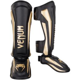 Venum Elite Standup Shinguards - Black/Gold