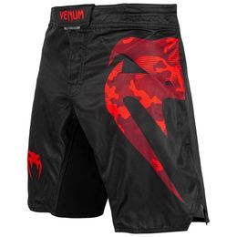 Venum Light Fightshorts - schwarz/rot