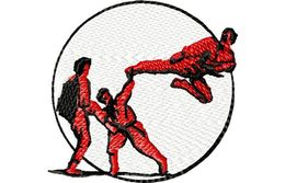 Stickmotiv Martial Arts / Karate - EMB-9252