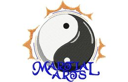 Stickmotiv Yin Yang / Martial Arts - EMB-SP2998
