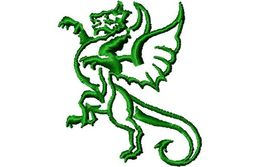 Stickmotiv Drachen / Dragon - EMB-42005