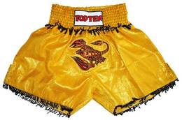 Thaiboxshort Skorpion gold