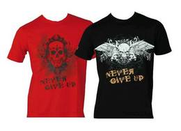 T-Shirt Top Ten Never give up
