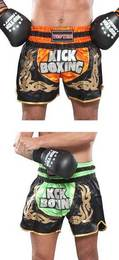 Thaiboxhose TopTen Kickboxing Neon