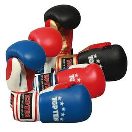 Boxhandschuh TopTen Fight 10 oz, Tricolor