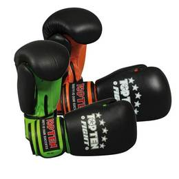 Boxhandschuh TopTen Fight 10 oz Neon Edition