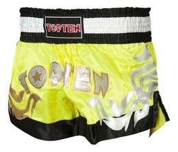 Thaiboxhose TopTen Neon, Gelb