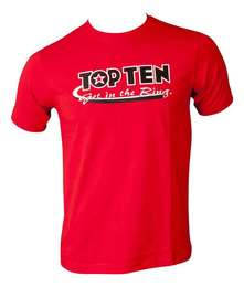 T-Shirt TopTen Get in the Ring, Rot