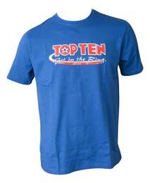 T-Shirt TopTen Get in the Ring, Blau