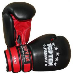 Box- und Sparringshandschuh TopTen Fight 16oz