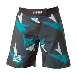 TopTen MMA Shorts Jungle, Schwarz-Grau