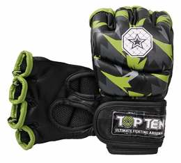 Ultimate Fighting Gloves TopTen MMA Jungle, Schwarz-Gelb
